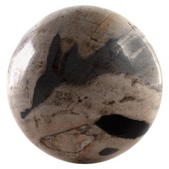 Large Petrified Wood Sphere Accessory