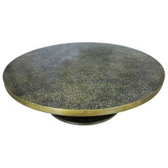 Large Philip and Kelvin Laverne Bronze Coffee Table