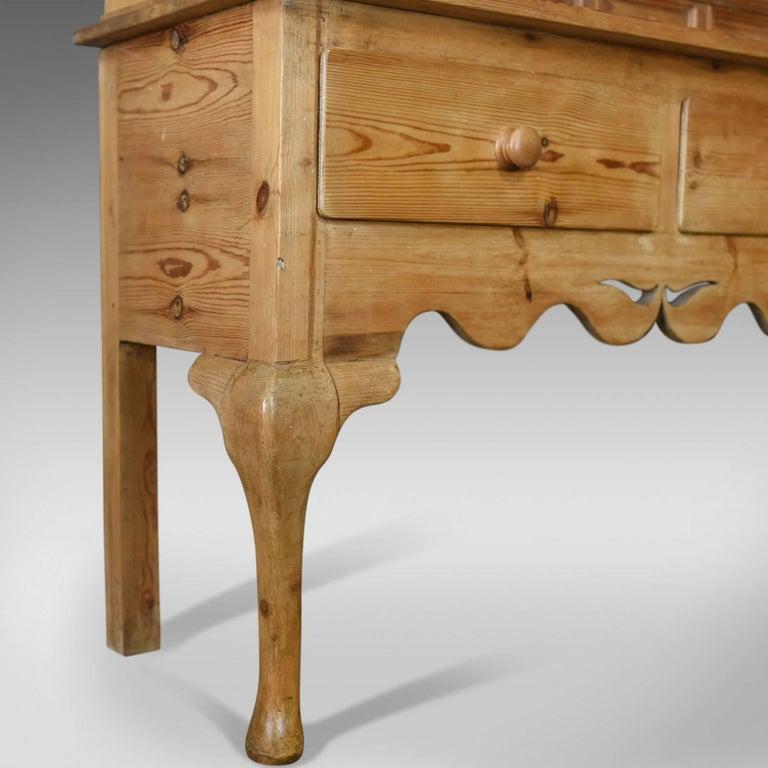 Large Pine Dresser in Victorian Taste Country Kitchen ...