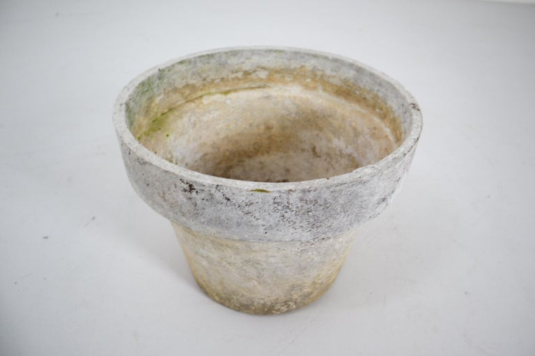 20th Century Large Planter in the Shape of Flower Pot by Willy Guhl for Eternit For Sale