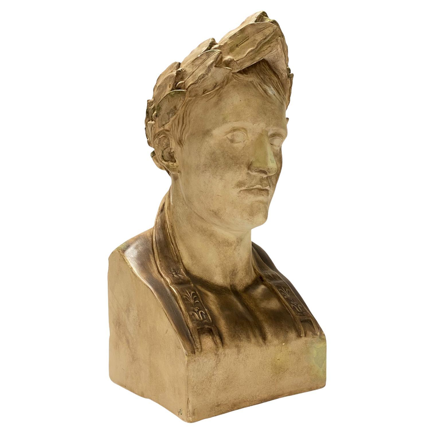 Large Plaster Bust of Napoleon