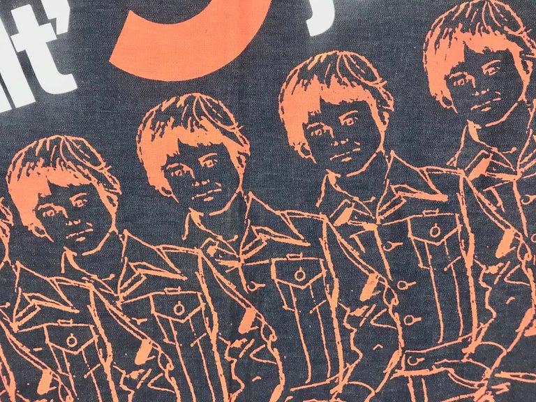 Mid-Century Modern Large Pop 1970s Wrangler