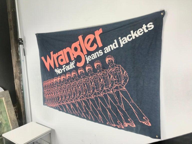Large Pop 1970s Wrangler