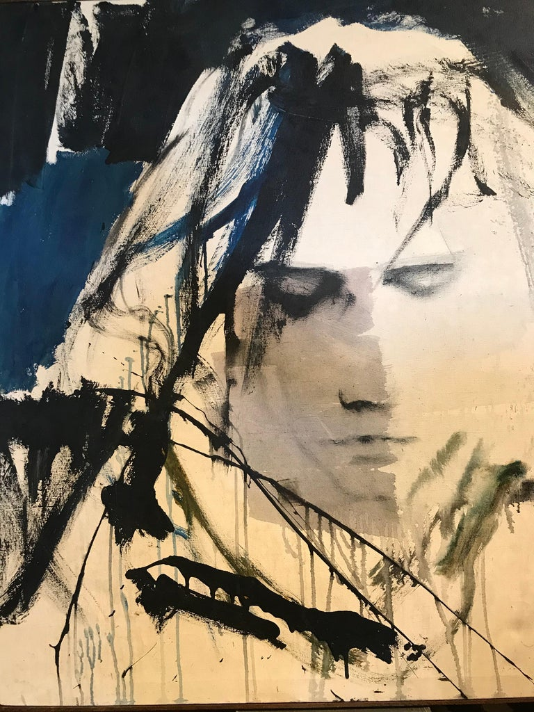 American Large Portrait of Jim Morrison by Gino Hollander