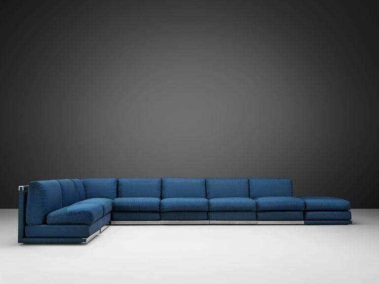 Post-Modern Large Postmodern Sectional Sofa For Sale