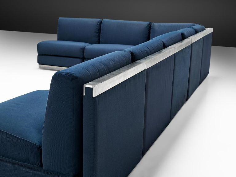 Large Postmodern Sectional Sofa In Good Condition For Sale In Waalwijk, NL