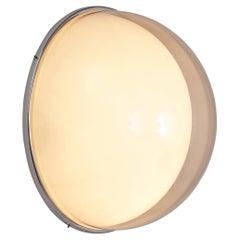 Large Postmodern Semicircular Wall Lamp