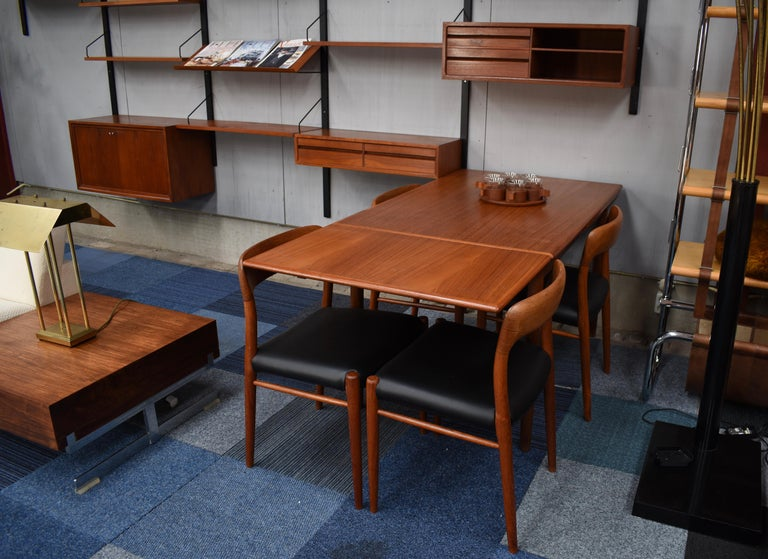 Large Poul Cadovius Royal Wall Unit in Teak, Denmark, 1950s For Sale 2