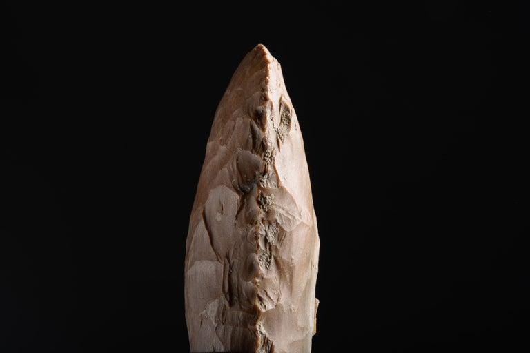 Large Prehistoric Neolithic Flint Axe For Sale 2
