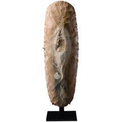 Large Prehistoric Neolithic Flint Axe, 4000 BC