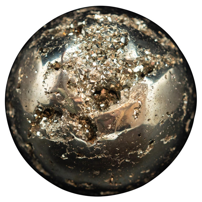 Large Pyrite Sphere For Sale
