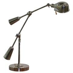 Large Ralph Lauren Boom Arm Est 1967 Articulated Table Lamp Tilt Functions