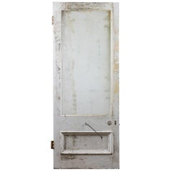Large Reclaimed Glazed Old Door, 20th Century