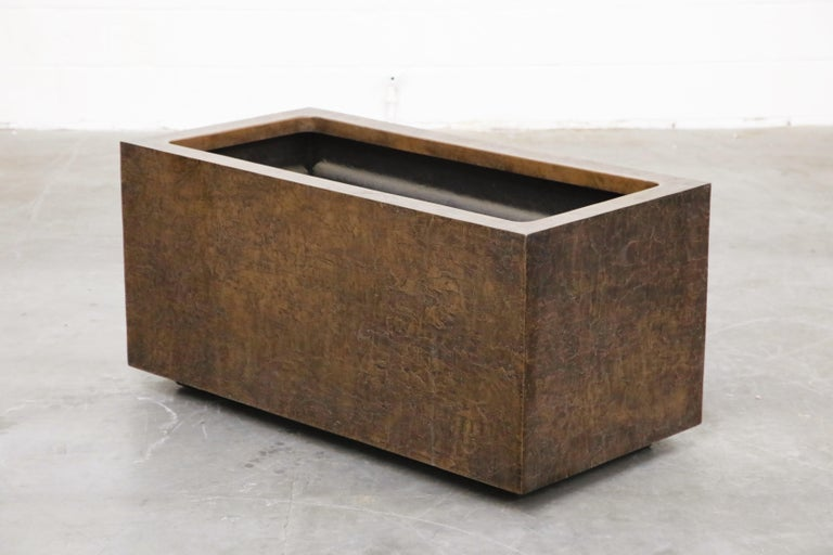 Large Rectangular Architectural Fiberglass Planters by Forms and Surfaces For Sale 10
