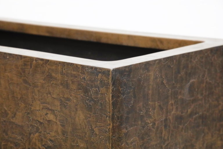 Large Rectangular Architectural Fiberglass Planters by Forms and Surfaces For Sale 11