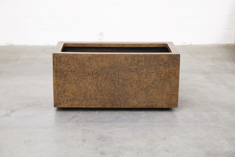 Large Rectangular Architectural Fiberglass Planters by Forms and Surfaces In Good Condition For Sale In Los Angeles, CA