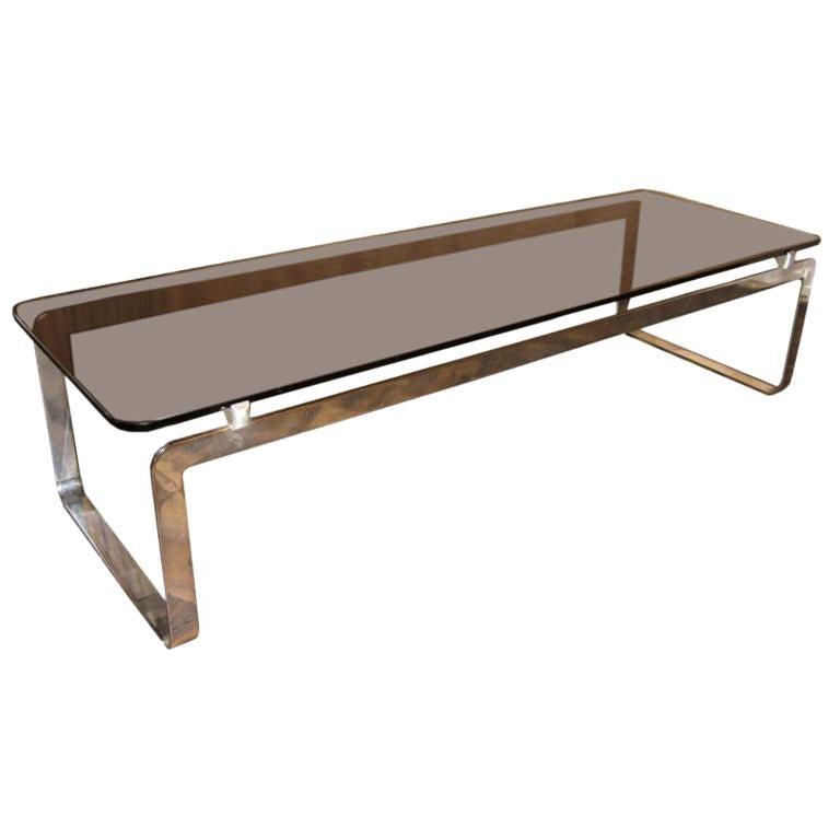 Large Rectangular Coffee Table For Sale At 1stdibs