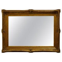 Large Rectangular Giltwood Mirror