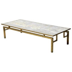 Large Rectangular LaVerne Coffee Table