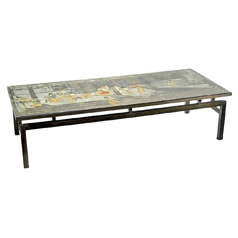 Large Rectangular LaVerne Coffee Table