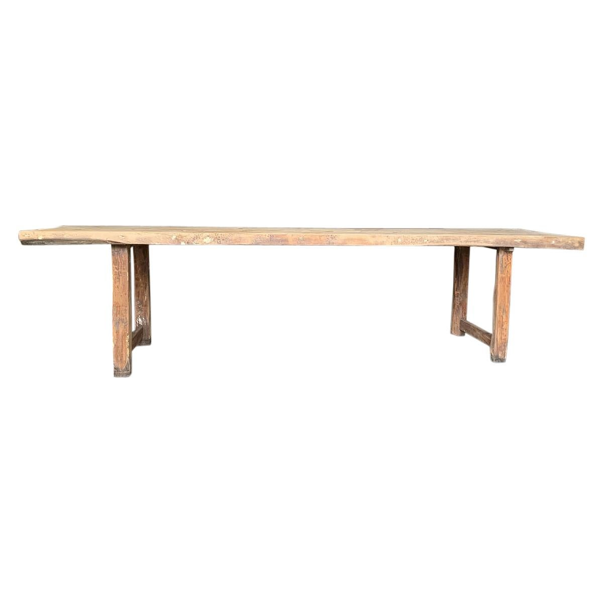 Large Refectory Farm Table