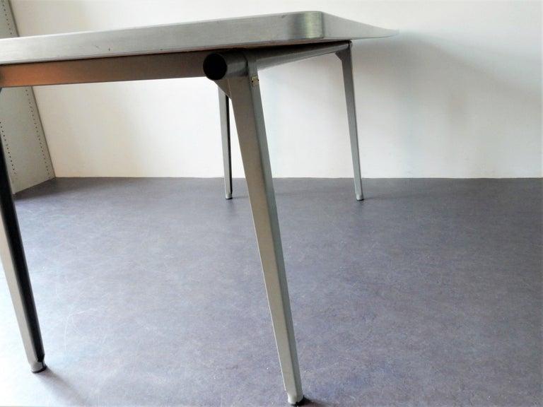 Dutch Large 'Reform' Table by Friso Kramer for Ahrend de Cirkel, Netherlands, 1950s For Sale