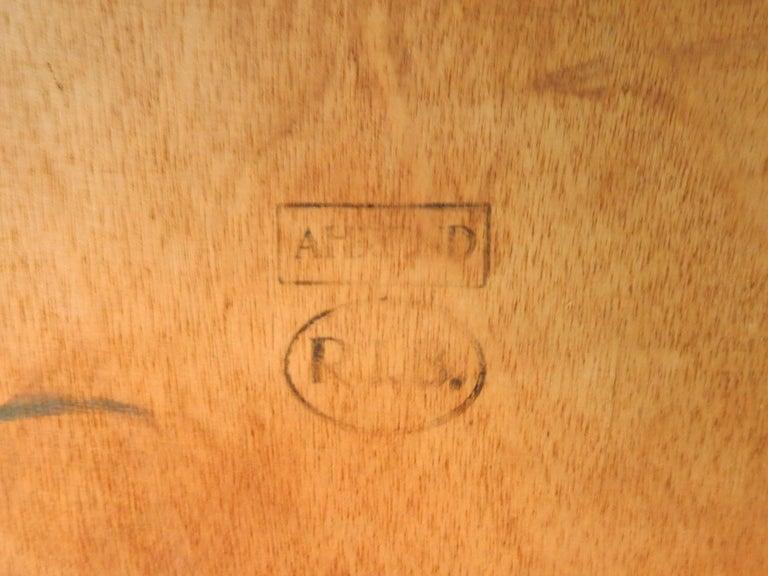 Metal Large 'Reform' Table by Friso Kramer for Ahrend de Cirkel, Netherlands, 1950s For Sale