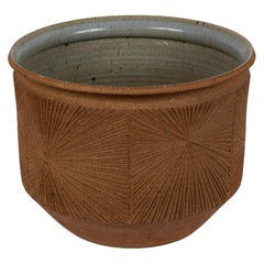 Large Robert Maxwell & David Cressey Sunburst Planter for Earthgender
