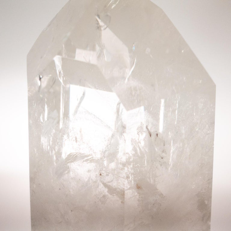 Brazilian Large Rock Crystal Point