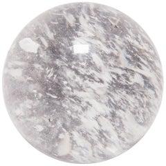 Large Rock Crystal Sphere