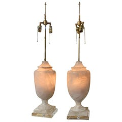 Large Rock Crystal Table Lamps