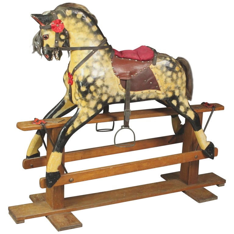 Large Rocking Horse by Collinson For Sale