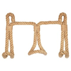 Large Rope Wall Hook by Audoux and Minet