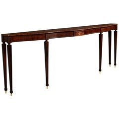 Large Rosewood Console by Paolo Buffa