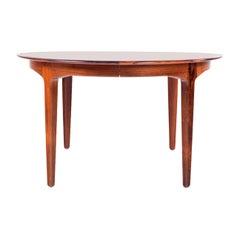 Large Rosewood Dining Table by Henning Kjærnulf for Soro