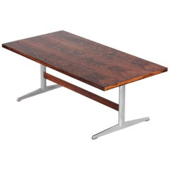 Large Rosewood Dining Table in Style to Arne Jacobsen