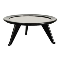 Large Round Coffee Table by Maurice JALLOT