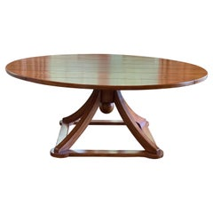 Large Round Dining Table by Hamby LA
