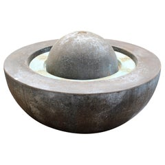 Large Round Outdoor Electric Reservoir Water Fountain
