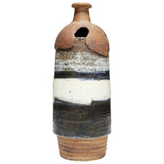Large Rounded Ceramic Vase by Albert Green