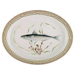 Large Royal Copenhagen Fauna Danica Serving Dish in Hand-Painted Porcelain