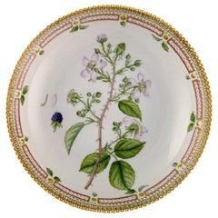 Large Royal Copenhagen Flora Danica Porcelain Bowl. Model Number 20/3505