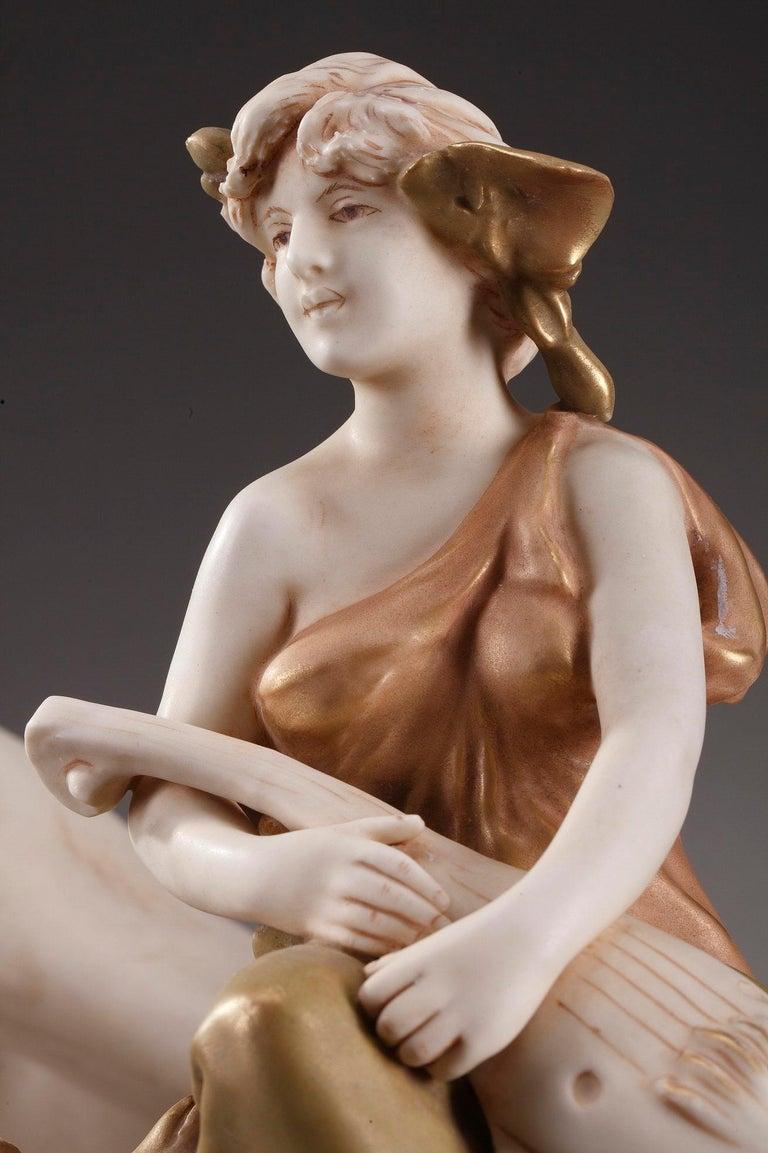 Large Royal Dux Cup, Art Nouveau Period For Sale 7