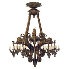 Large Russian Chandelier