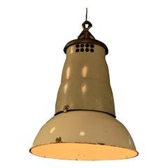 Large Rustic Industrial Factory Pendant Light
