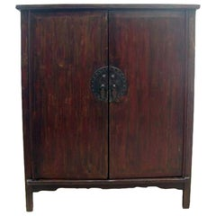 Large Rustic Provincial Cabinet