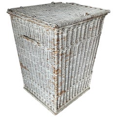 Large Rustic Wicker Basket