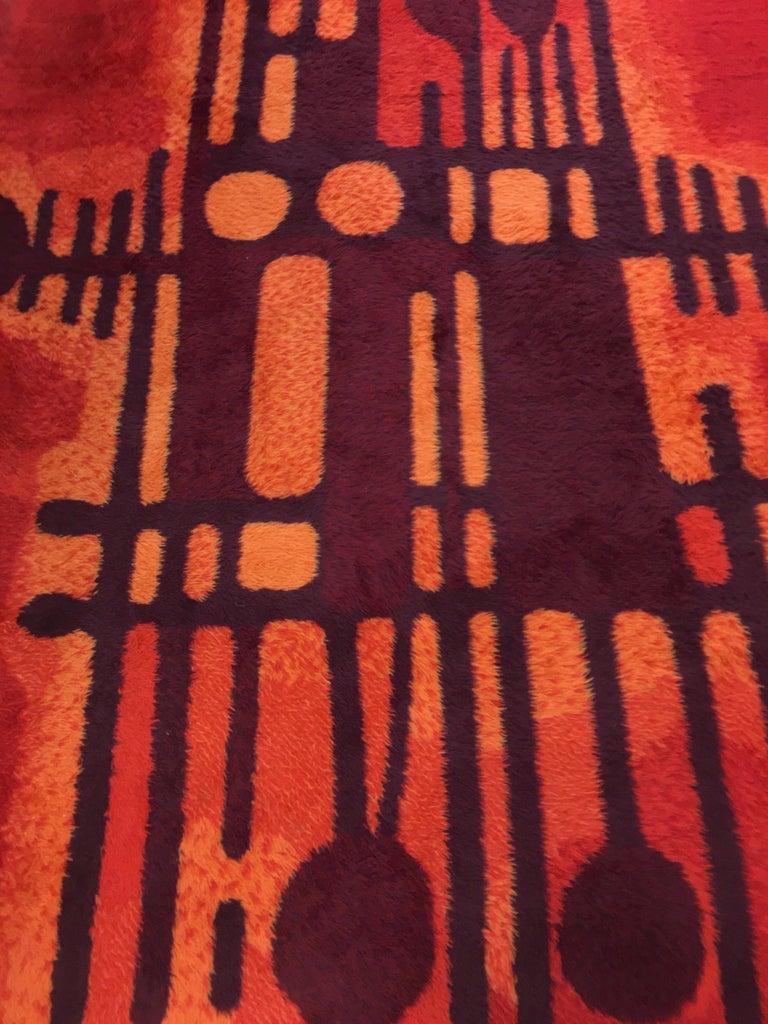 Large Rya Rug by Ege Taeppper, Denmark 1