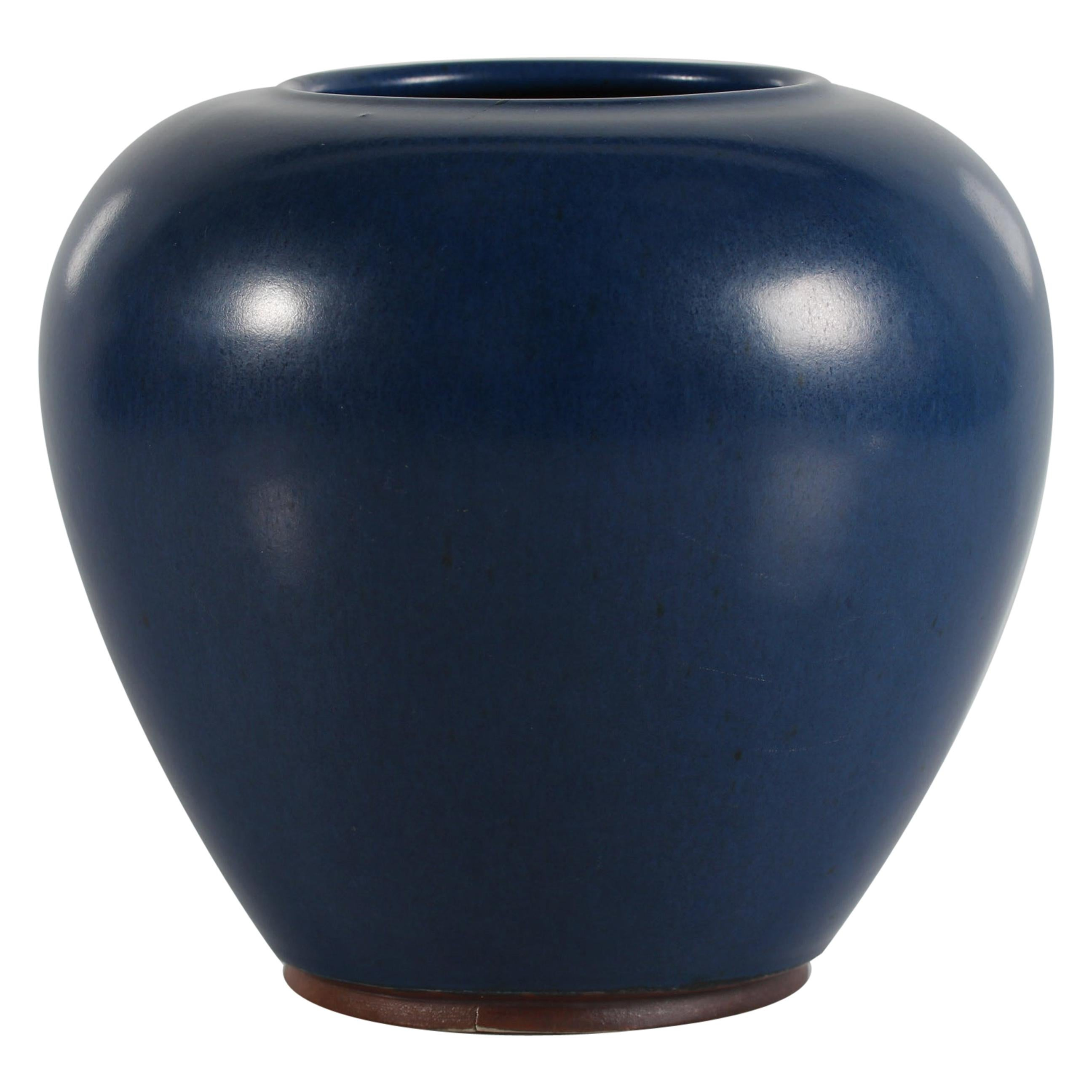 Large Saxbo Ceramic Vase No. 16 Designed by Eva Stæhr-Nielsen, Denmark 1949-1958
