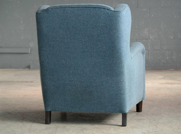 Large Scale 1940s Lounge Chair in the Style of Carl-Johan Boman 5
